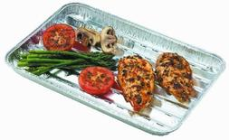 Nicole Home Collection 03270 3 Count Aluminum BBQ Grill Pans