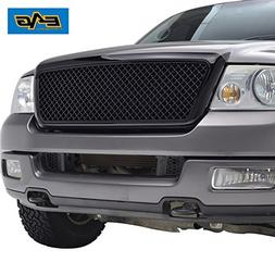 EAG 04-08 Ford F-150 Mesh Grille Black Full ABS Grill With S
