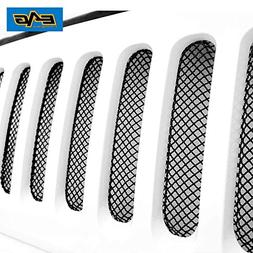 EAG 07-18 Jeep Wrangler JK Wire Mesh Grille Bug Screen
