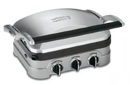 Cuisinart 5 In 1 Griddler with Panini Press, Full Grill, Ful
