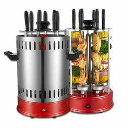 1000W Electric Vertical Grill Machine Chicken Barbecue Autom