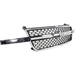 Diften 104-C1710-X01 - New Grille Grill Chevy Chevrolet Silv
