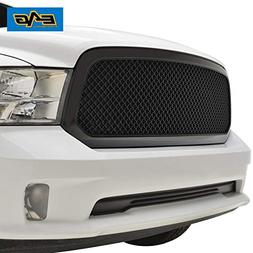 EAG 13-18 Dodge Ram 1500 Mesh Grille ABS Replacement Matte B
