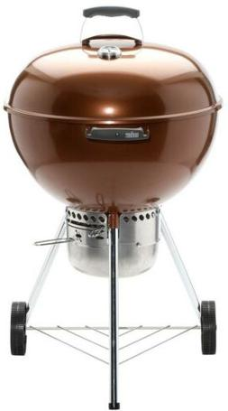 Weber 14402001 Original Kettle Premium Charcoal Grill, 22-In