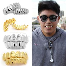14K Gold/Silver Plated Mouth Caps Cosplay Teeth Grills Grill