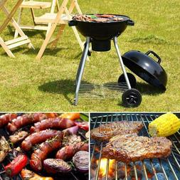 Gymax 18.5-Inch Kettle Charcoal Grill BBQ Outdoor Backyard C