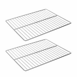 2 Pack Stainless Steel Barbecue Cooking Grid Grate Grill Par