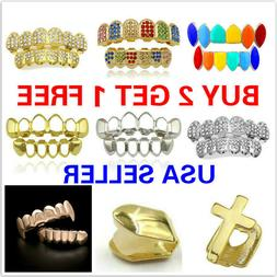 20+ Styles Hip-hop Rapper Mouth Caps Custom Teeth Grills Too