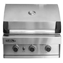 Turbo 3-Burner Built-In Gas Grill - Natural Gas