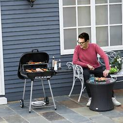 22 inch Portable BBQ Charcoal Steel Grill Camping Backyard C