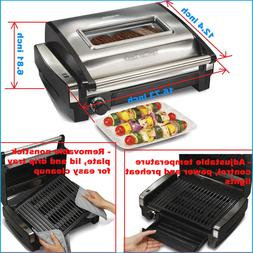 Hamilton Beach 25361  Electric Indoor Searing Grill Less Smo