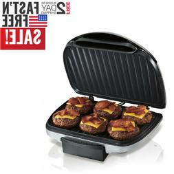 Hamilton Beach  Electric Indoor Grill with Non Stick Plates,
