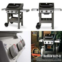 3-Burner Propane Gas Grill Black Boasts Gs4 Grilling System