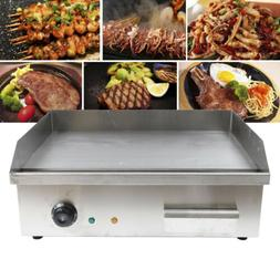3000W Electric Griddle Cooktop Flat Thermomate Commercial Re
