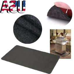 Gas Grill Mat Pad Floor Protective Fire Resistant Rug Outdoo