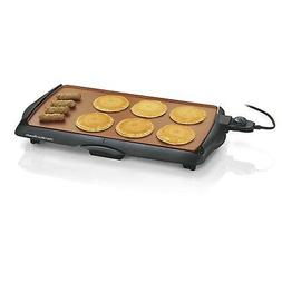 Hamilton Beach 38518R Durathon Ceramic Griddle, 200 sq. in,