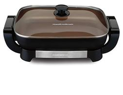 Hamilton Beach 38529 Electric Ceramic Skillet, 15 Inch Deep