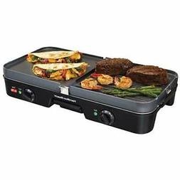 38546 3-In-One Electric Griddles Grill/Griddle Kitchen &amp