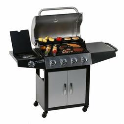 4+1 Burner Backyard Patio Stainless Steel Outdoor Cooking BB