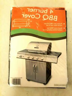 4 Burner BBQ Grill cover 62 x 23 x 21 inch. Free Shipping.