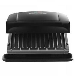 George Foreman 4-Serving Removable Plate Electric Grill and