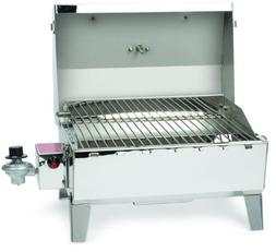 Camco Stainless Steel Portable Propane Gas Grill, Convenient