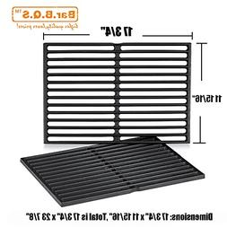 Bar.b.q.s 7562 Matte Cast-Iron Cooking Grates for Weber 7526