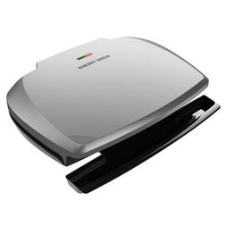 George Foreman 9-Serving Classic Plate Grill and Panini Pres