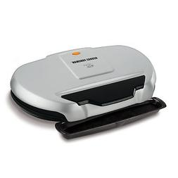 George Foreman 9-Serving Classic Plate Electric Grill and Pa