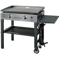 BLACKSTONE 28 inch 2 - Burner Gas Griddle - Stainless Steel