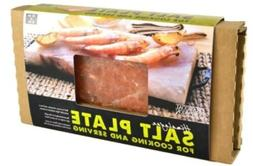 Charcoal Companion CC6064 Himalayan Salt Plate & Holder Set,