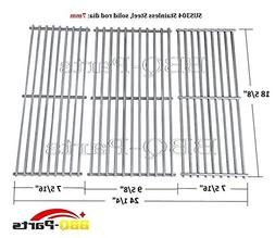 Hongso Grill Grates, Durable 304 Stainless Steel Solid Rod,
