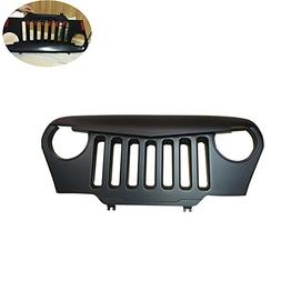 Angry Bird Grille Front Matte Black Lantsun Overlay Grill Fo