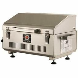 Anywhere Portable Infrared Propane Gas Grill, Stainless Stee