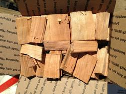 Apple Wood Chunks for Smoking BBQ Grilling Cooking Smoker Pr
