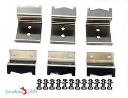BBQ funland B5050  Stainless steel heat plate brackets, burn