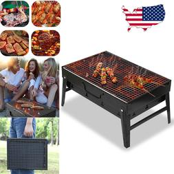 Barbecue Charcoal Grill Folding Portable BBQ Tools for Campi