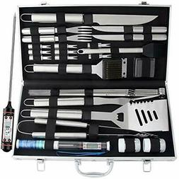 Barbecue Tool Sets ROMANTICIST 27pc BBQ Grill Accessories Wi