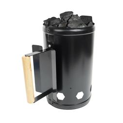 BBQ Barbecue Chimney Starter Charcoal Grill Steel Rapid Quic