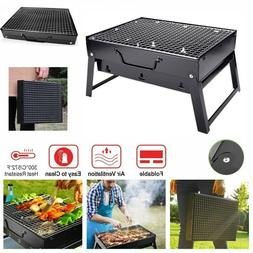 BBQ Barbecue Grill Folding Portable Charcoal Stove Camping G