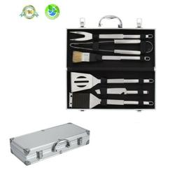 BBQ Barbecue Tool Set Grill Grilling Tools Accessory Stainle