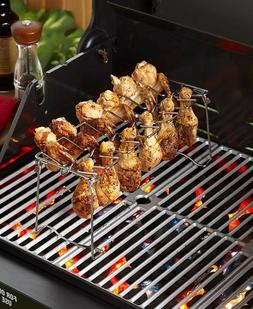 BBQ Grill Accessories - Chicken and Wing Rack