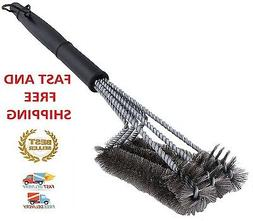 """BBQ Grill Brush Cleaner 18"""" Grilling Tool Cleaning Stainless"""