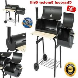 BBQ Grill Charcoal Barbecue Outdoor Patio Cooking with Smoke