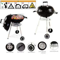 BBQ Grill Charcoal Outdoor Barbecue Accessories Black Settle