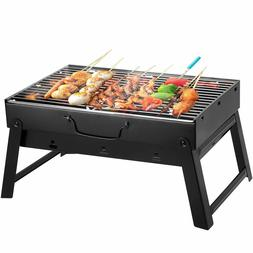 BBQ Grill Outdoor Charcoal Lightweight Small Folding Portabl