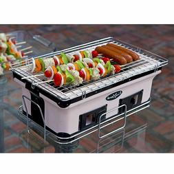Small BBQ Grill Portable Table Top Ceramic Clay Yakatori Bar