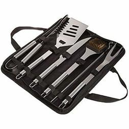 BBQ Grill Tool Set-Stainless Steel Barbecue Grilling Accesso