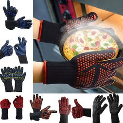BBQ Grilling Cooking Gloves Extreme Heat Resistant Oven Weld