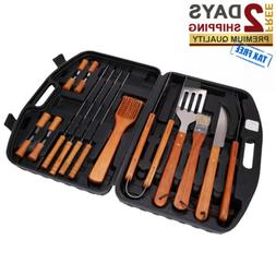 BBQ SET Stainless Steel Barbecue Utensils Kit Outdoor Grill